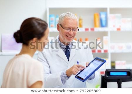 on-line · farmácia · medicina · mouse · de · computador - foto stock © dolgachov