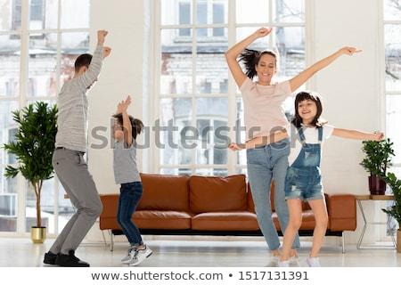 Famille mère père en fils humeur extérieur Photo stock © Kzenon
