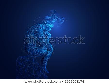 the robot thinks, thinker Stock photo © studiostoks