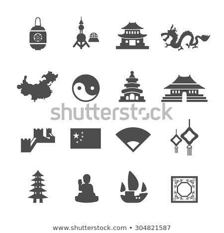 icone · design · viaggio · eps · 10 · fiore - foto d'archivio © netkov1