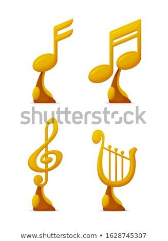Musica premio premiare musicale giocatori vettore Foto d'archivio © robuart