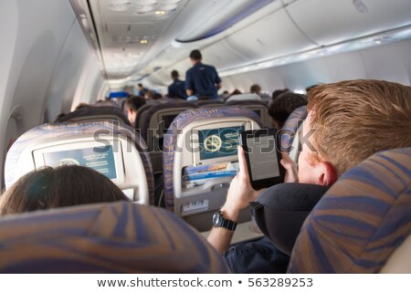 Widoku samolot lotu klasyczny skrzydła niebo Zdjęcia stock © hamik