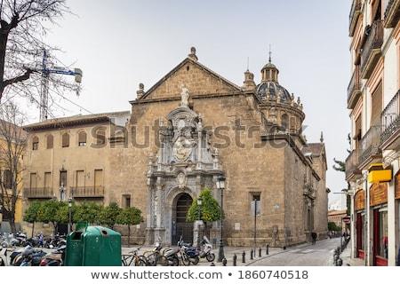 Church of Santos Justo y Pastor, Granada, Spain Stock photo © borisb17