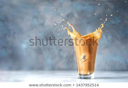 Freshly served iced latte coffee  Stock photo © grafvision