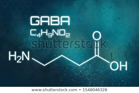 химического формула футуристический аннотация медицинской технологий Сток-фото © Zerbor