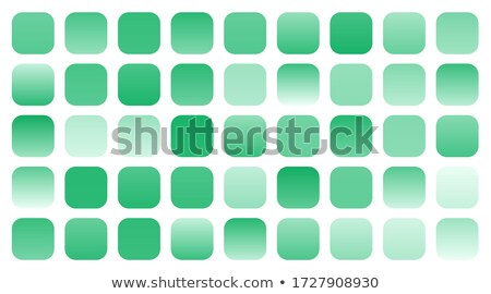 mega set of green gradients shade combination Stock photo © SArts