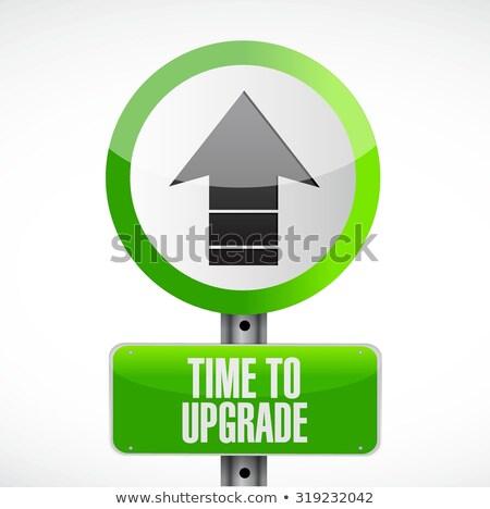 Szoftver rendbehoz vektor metafora app fejlesztés Stock fotó © RAStudio
