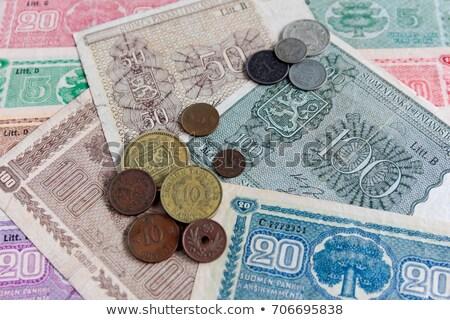 old finnish money stock photo © stocksnapper