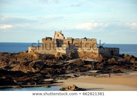 The National Fort from Saint Malo Stock photo © RazvanPhotography