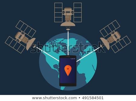 globális · kommunikáció · közlekedés · illusztráció · internet · földgömb · térkép - stock fotó © oblachko