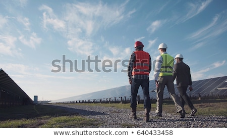 a workman with a panel Stock photo © photography33