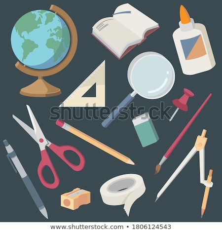 compasses and ruler stock photo © TheProphet