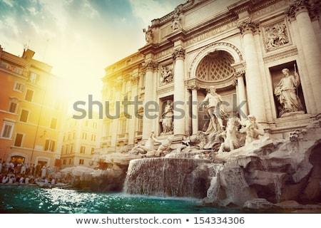 утра · Рим · Италия · небе · синий · путешествия - Сток-фото © prill
