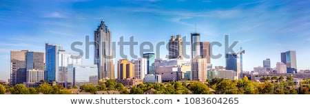 Skyline черный серый белый бизнеса служба Сток-фото © Sniperz