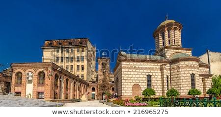 oude · rechter · kerk · Boekarest · Roemenië - stockfoto © johny007pan