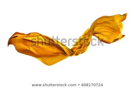 Dorado raso tejido textura resumen luz Foto stock © ozaiachin
