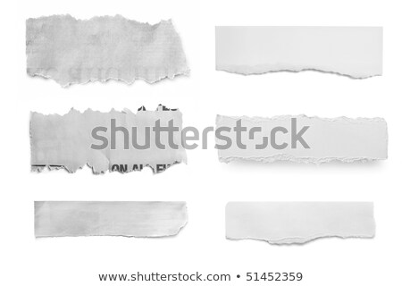 gray torn paper, ready for your message Stock photo © inxti