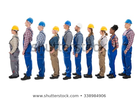 Tradesman and engineer standing side by side Stock photo © photography33