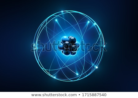 átomo elétron abstrato educação branco química Foto stock © dagadu