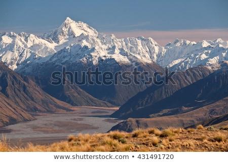 высокий южный Альпы Кука Новая Зеландия пейзаж Сток-фото © wildnerdpix