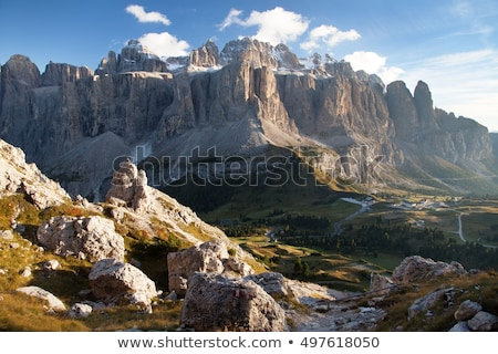 İtalya gökyüzü yol doğa yeşil grup Stok fotoğraf © Antonio-S