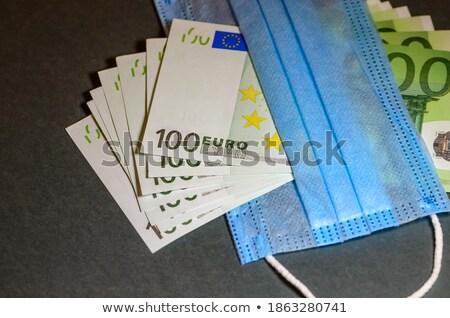 евро · шесть · первый · плана · банкнота - Сток-фото © Vectorex