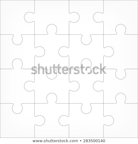 16 piece jigsaw stock photo © ronfromyork
