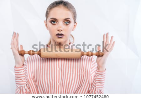 Sexy woman holding tools Stock photo © photography33