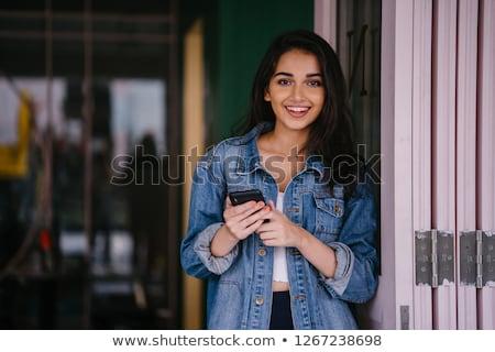Attractive Indian girl Stock photo © ziprashantzi