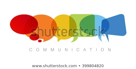 Abstract Communication Bubbles Stock photo © cteconsulting