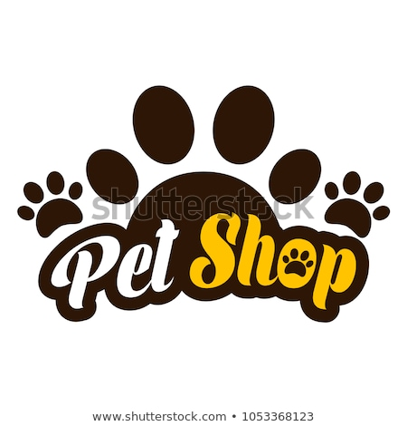 Pet shop sign Stock photo © zsooofija
