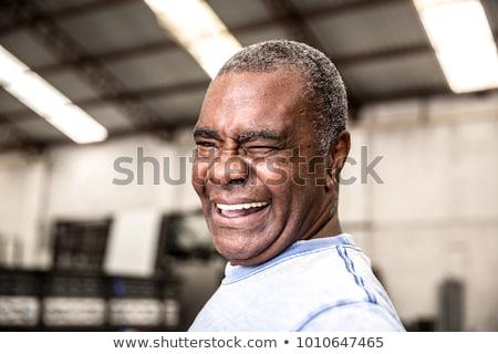 Portrait of an elderly labourer Stock photo © photography33