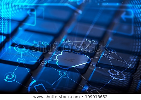 キーボード マルチメディア アイコン コンピュータのキーボード 世界中 ストックフォト © ra2studio