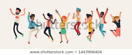 Human Celebration Stock photo © Lightsource