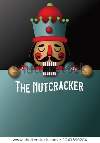nuts and nutcracker Stock photo © M-studio