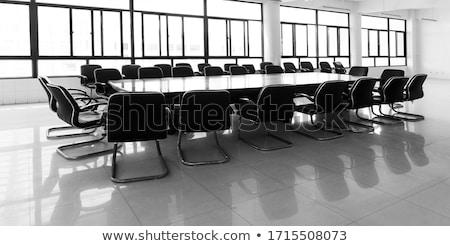 бизнеса менеджера Дать чистый лист бумаги синий Сток-фото © dzejmsdin