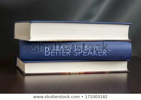図書 · スピーカー · 孤立した · 白 · 3dのレンダリング · ヘッドホン - ストックフォト © maxmitzu