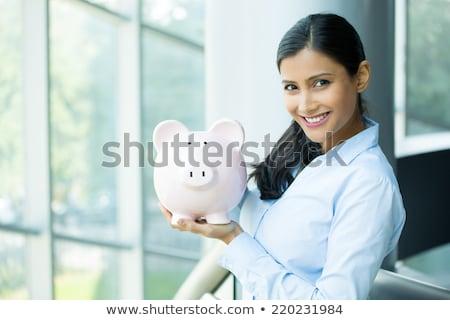 pensioen · dromen · financiële · vrijheid · planning · symbool - stockfoto © dash