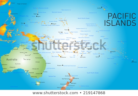 Pacific map with Tonga  Stock photo © Ustofre9