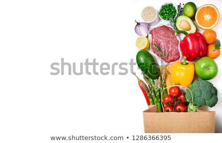 masculino · mão · carne · carne · trabalhar - foto stock © mikdam