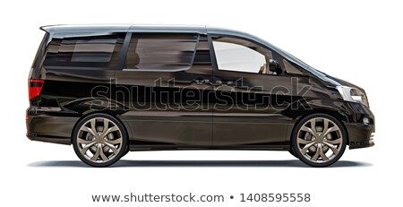 Black Minivan Stock photo © tilo