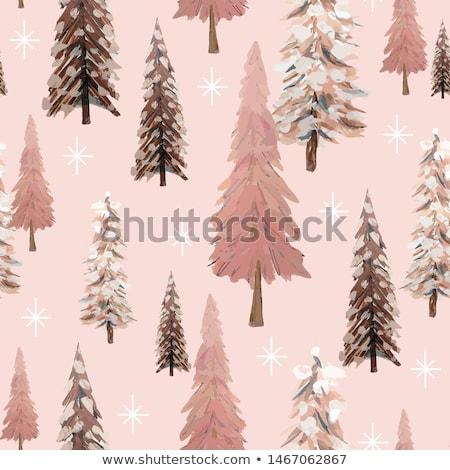 ストックフォト: 雪 · 冬 · シームレス · テクスチャ · エンドレス · パターン