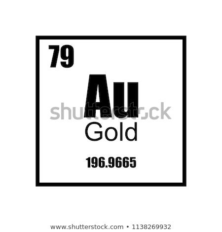 Info złota wektora ikona przycisk projektu Zdjęcia stock © rizwanali3d