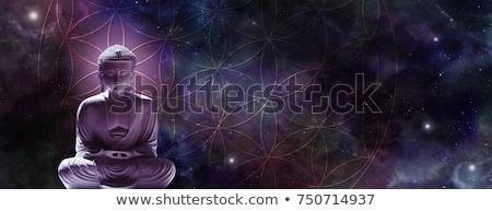 Будду сидят рук Сток-фото © Hofmeester