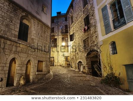 Peille, Provence, France Stock photo © phbcz