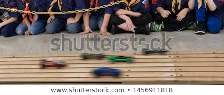 Derby suivre voitures voiture Photo stock © njnightsky