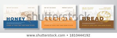 Bread Text Stock photo © Lightsource