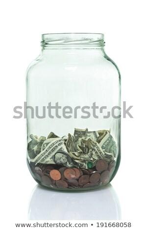 Emergência metade dólar quebrar vidro alarme de incêndio Foto stock © Bigalbaloo