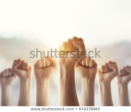 people hands fist Stock photo © Paha_L