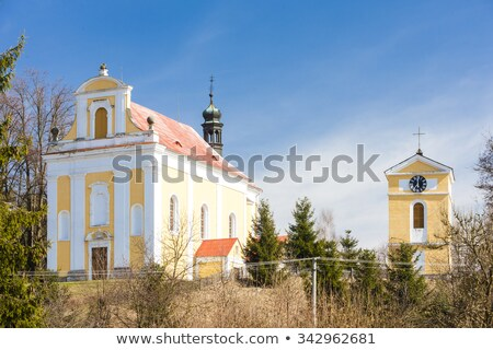 Igreja República Checa edifício arquitetura europa Foto stock © phbcz